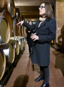 Italy Piedmont - Alba Prunotto Barrel Room 2 - 11-13