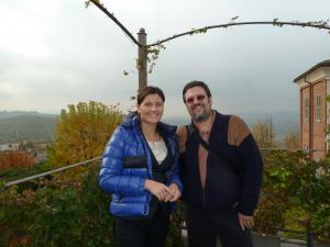 Italy Piedmont - Barbaresco Gaja Ben and Gaia at Winery - 11-10