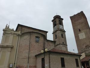 Italy Piedmont - Barbaresco Produttori Church and Tower - 11-13