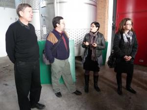 Italy Piedmont - Barolo Ben and Tour Clients at GD Vajra in Barolo - 10-11