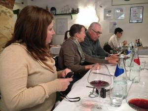 Italy Piedmont - Barolo Group at Lunch 1 - 11-13
