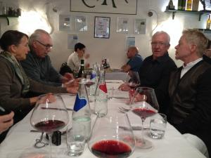 Italy Piedmont - Barolo Group at Lunch 2 - 11-13